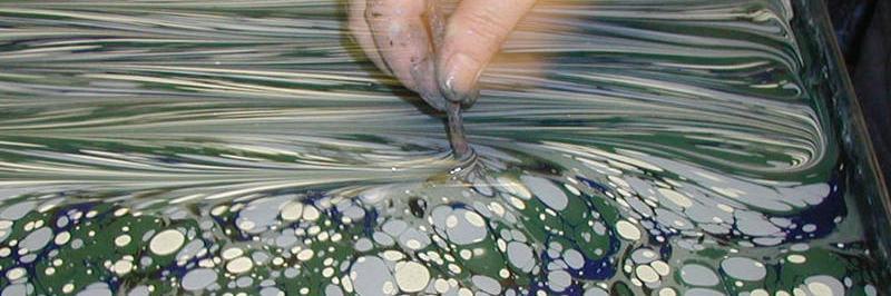 corso carta marmorizzata
