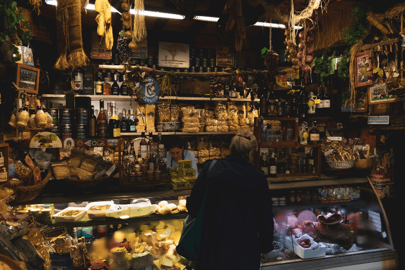 Food in Florence